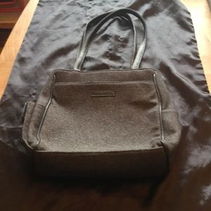Frankie & Johnnie Gray Shoulder Bag Preowned